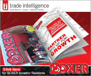 PROPERTY DEVELOPERS: BOXER IT IS!