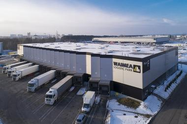 Waimea logistics park in Poland which was recently acquired by Fortress, South Africa's third largest real estate investment trust (Reit).
