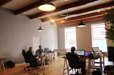Cape Town's CBD is seeing a rise in coworking, a trend that describes consultants, freelancers and entrepreneurs sharing office space.