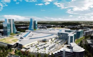 Artist impressions of Mall of Africa being developed by Atterbury, South Africa's largest single-phase shopping mall development to date – financed by Nedbank Corporate Property Finance.