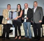 RDDA AWARDS WINNERS with Sponsor, Ken Reynolds, Regional Executive Nedbank Corporate Property Finance, Greg Azzopardi (SACSC)