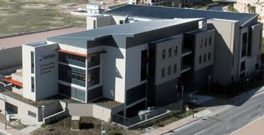 A-grade office block for the Softline Group at Century City, Cape Town has just been completed.