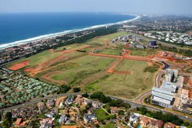JSE-listed sugar and property giant, Tongaat Hulett will release 42 of the remaining 62 hectares of Ridgeside, its iconic development on Umhlanga Ridge, to the market as a single transaction in the first quarter of 2014.