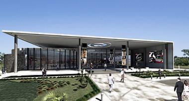 An illustration of the Cell C JHB campus at Waterfall Business Estate