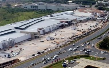 Current aerial view of Ballito Junction Mall opening on Thursday, 23 March 2017.