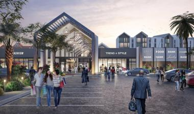 Architectural perspectives of the upgraded entrance of Boardwalk Mall scheduled to open in 2021.