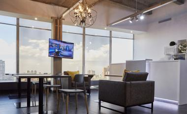 Office and co-working space in Braamfontein, At the heart of a busy commercial and business district, it's a desirable address that's ideal for work and networking alike.
