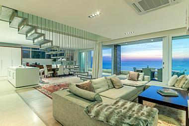 This luxury five-bedroomed villa in Camps Bay was sold to an American buyer for R24 million recently.
