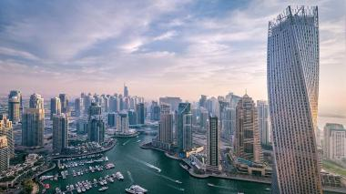 Shimmering skyscrapers, golf-course villas and houses in sprawling communities are on show at Cityscape, a fair with a growing a reputation as the venue for launching the emirate's mega projects.