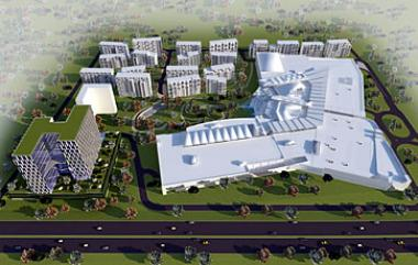 Artist Perspective of Garden City, Nairobi's flagship retail, residential and commercial property development by Actis.