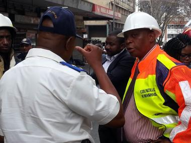 Mayor Herman Mashaba plans to open up Johannesburg's hijacked buildings to private developers and will expropriate property if necessary.