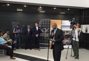 Alex Mall, featuring numerous popular clothing and interiors brands, was officially opened on Wednesday by Johannesburg Mayor Herman Mashaba.