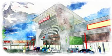 An artist's impression of Goldfields Mall, the new shopping centre in Jouberton, situated 13km from Klerksdorp CBD.