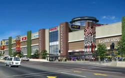 Artist rendering of the R273 million KwaMnyandu Shopping Centre funded by Nedbank Corporate Property Finance, officially launched on Friday 1 March by the Ethekwini Municipality