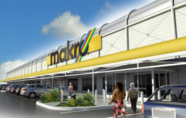 Artist rendering the new Makro set to change the Alberton CBD, funded by Nedbank Corporate Property Finance who retains a significant equity stake in the development through its investment arm.