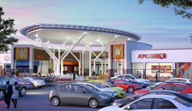 An artist impression showing the entrance of the R850 million Mall of Tembisa on Gauteng's East Rand.