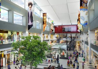 After undergoing a R2-billion revamp over the past two years, the Pretoria based Menlyn Park Shopping Centre is now the largest mall in Africa, with a total floor space of 170 000m2.