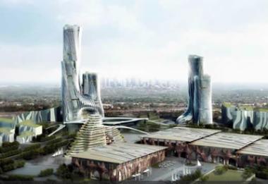 Construction has begun on the new R84 billion city in Modderfontein, Gauteng, owned by Hong Kong listed Shanghai Zendai.