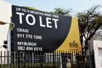 Given the weak economic growth, some major players in South Africa's property industry have started offering up to 9 months' rent free.