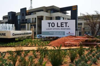 At the end of June, the national office vacancy rate was 10.6%, according to the South African Property Owners' Association (Sapoa). This marked the largest quarter-on-quarter decline since 2008.