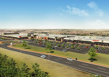 An Artist impression of Olievenhout Plaza with a total GLA of 16,314 m² funded by Nedbank Corporate Property Finance and its investment arm has acquired a 25% equity stake in the development.