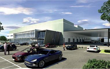 Artist's impression of  Plumbago Business Estate financed by Nedbank Corporate Property Finance.