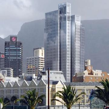 Portside site in Cape Town's central business district.