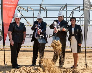 Shree Property Holding has committed R460 million to investment in distribution warehousing for logistics tenants, taking up 23 Dube TradeZone sites for its massive 60 000 square metre undertaking.