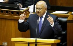Addressing the 2016 Medium-Term Budget Policy Statement, dubbed the mini budget, Minister Pravin Gordhan announced the Treasury had revised South Africa's economic growth from 0.9% to 0.5%.