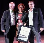 Romily Madew and Green Building Council Australia were awarded the Green Building Council of South Africa Chairman's Award.
