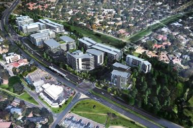 An artist impression of Sandton Gate precinct, a new mixed-use development worth R3 billion.