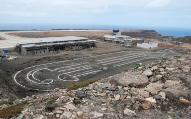 Basil Read continues to be buffeted by the R4.6bn St Helena Airport it is building on behalf of the British government.