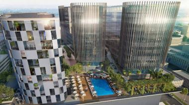 The Galleria situated in the heart of Rosebank — is a mixed-use development with about 90,000m² space incorporating offices, retail, hotel and residential apartments.