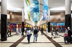 An artist's impression of the interior of the 17 500m² Gateway regional shopping centre in Lilongwe, Malawi.