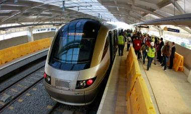 The Gautrain is Africa's first world-class, modern rapid rail and bus service located in the business hub of South Africa's Gauteng province.