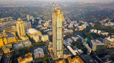 The Leonardo, Africa's tallest building finally opened its doors to the public after several months of teasing.