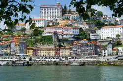 The old town of Porto, the most traditional city and period architecture