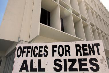 Vacant Office Space Pressure Landlords