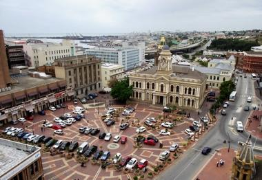 New inner-city project will see the revamp of Vuyisile Mini Square in front of the Port Elizabeth City Hall.