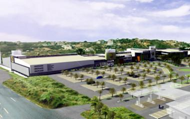 Consumers are gearing up for a hearty spending spree when eight of Atterbury's ambitious retail projects come to fruition in 2014. File Photo: West Hills Mall in Ghana.