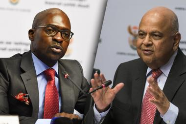 SA Finance Minister Pravin Gordhan replaced with Home Affairs Minister Malusi Gigaba at a time the country is facing weak economy growth.