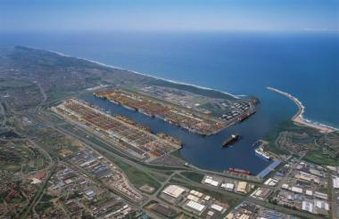 The proposed R100bn development of a dugout port at the old Durban International Airport.