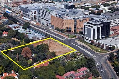 Rosebank Aerial View