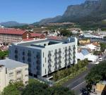 Mowbray student housing development in Rosebank, Cape Town - External Views