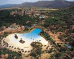The Sun City Resort draws thousands of visitors each year to its four hotels including two five-star hotels; The Palace of the Lost City (which forms part of The Leading Hotels of the World)