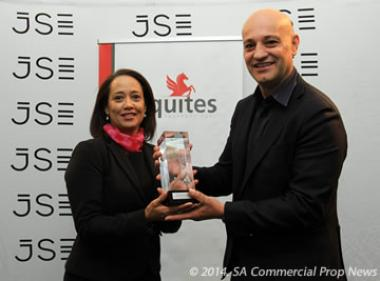 Commenting on the JSE listing event, Equites Property Fund CEO, Andrea Taverna-Turisan (right) said the fund was pleased to welcome its new institutional and private shareholders.