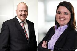 Shareholders in Pivotal headed by CEO Jackie van Niekerk [RIGHT] will get 460 million new Redefine Properties shares plus 31 million shares in Echo Polska Properties (EPP), according to CEO Andrew Konig (LEFT).