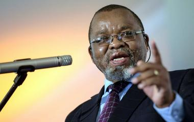 """If we can discover oil and gas here, that will be a game changer for the country in terms of the economy,"" Minister of Mineral Resources Gwede Mantashe said."
