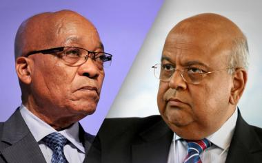 Many suspect that Minister Pravin Gordhan arrest is politically motivated following his disagreements with President Jacob Zuma.