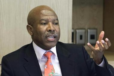 South Africa's Reserve Bank Governor, Lesetja Kganyago, on Thursday left interest rates unchanged at 6.75 percent